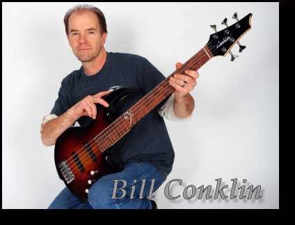Bill Conklin with an Early Classics Model Club 424 Bass Prototype